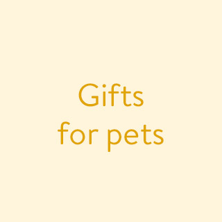 Shop Gifts for Pets and Pet Lovers