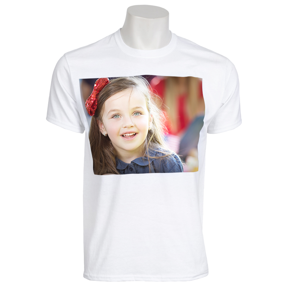 Photo T Shirt Adult Small With Full Design 1