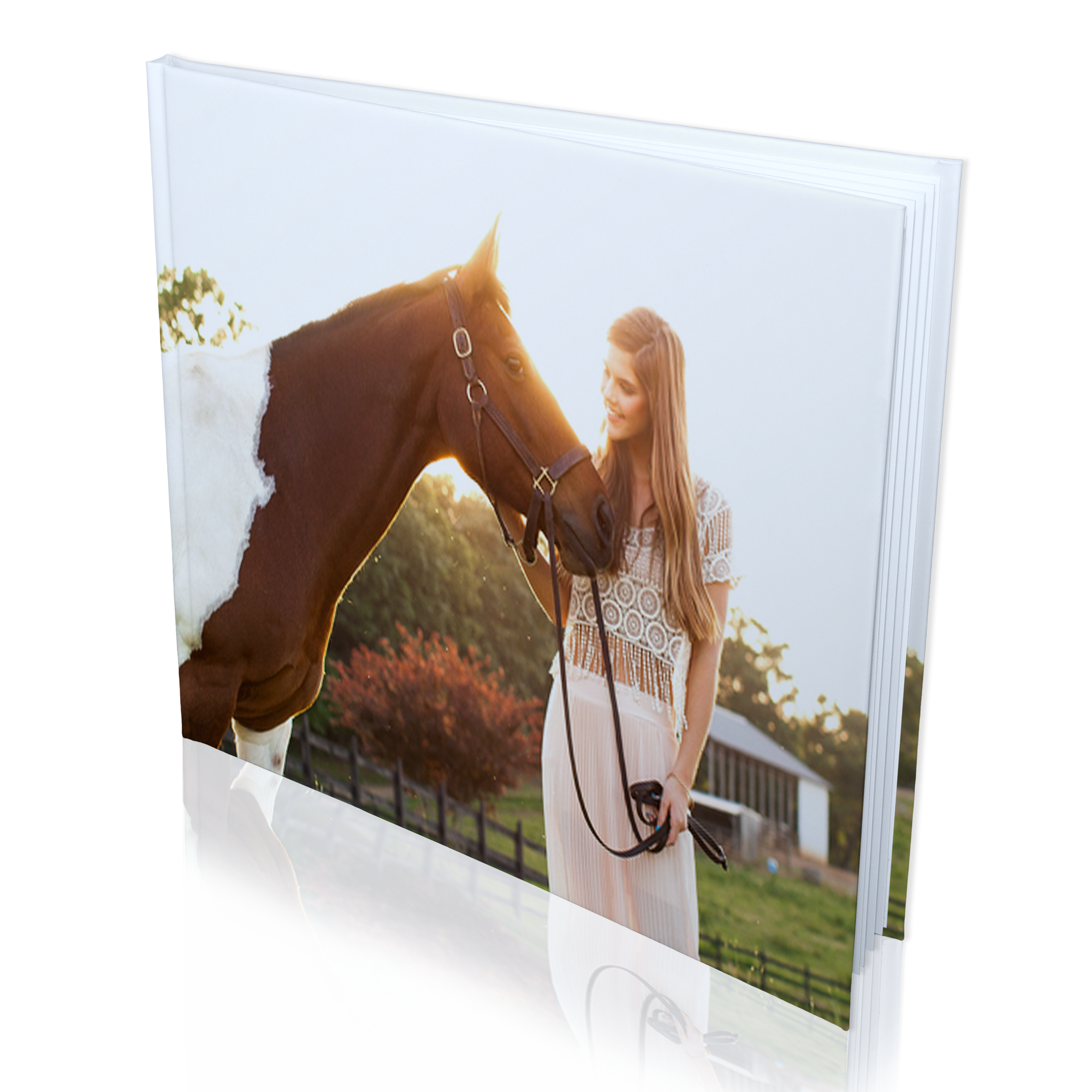 12x12 hard cover photo book matte