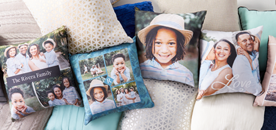 custom pillows, personalized pillows, picture pillows, photo pillows