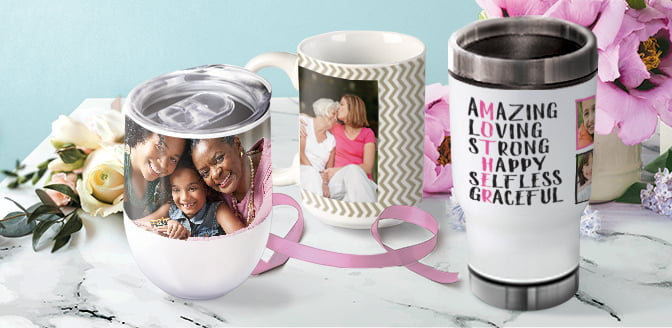 photo mugs & drinkware