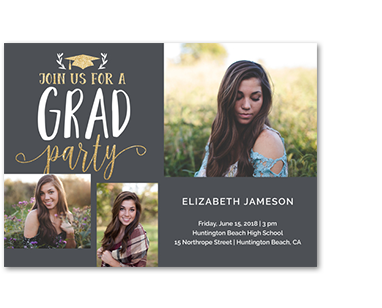 Photo cards invitations walmart photo graduation announcements filmwisefo Gallery
