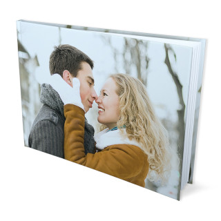 8x11 hard cover photo book matte