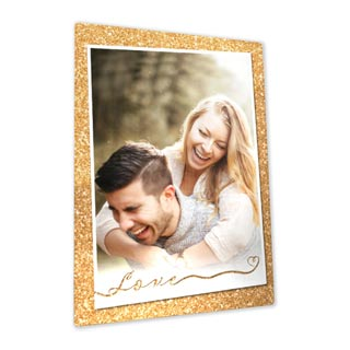 5x7 Metallic Photo Easel