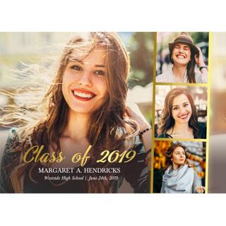 Graduation Premium Foil Cards