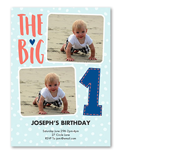 Photo cards invitations walmart photo birthday birthday invitations filmwisefo Gallery