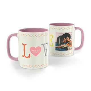 11oz Pink Mug