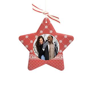 Sculpted Star Ornament