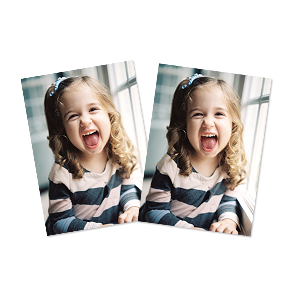 2 Wallet-Sized Professional Prints - Full Photo | Wallet Prints