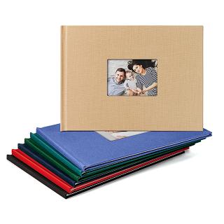 linen cover photo book