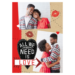 photo valentines day cards, custom photo cards, custom valentines day cards, cut apart valentines day cards, vday cards