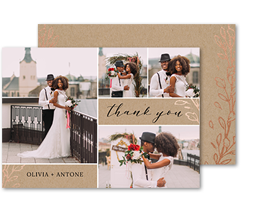 Photo cards invitations walmart photo thank you filmwisefo Gallery