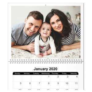 8X11 Calendar Image