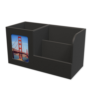 leatherette desk set