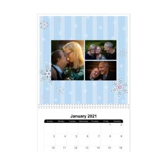 12 Month 12x12 Wall Calendar