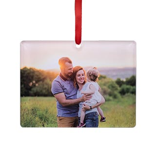 acrylic rectange ornament
