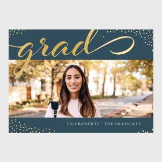 premium foil graduation cards