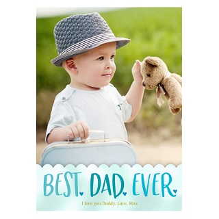 custom father's day cards, photo father's day cards