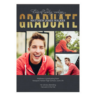 Custom Graduation Cards Photo Announcements Invitations