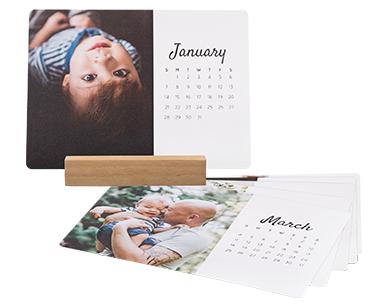 5x7 Easel Calendar