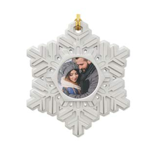 Resin Snowflake Ornament