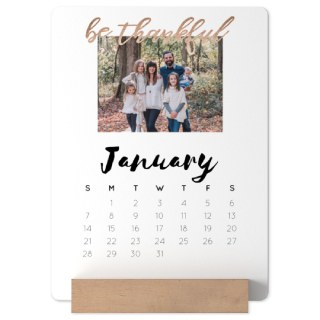 5x7 Easel Photo Calendar