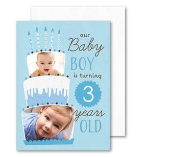Custom cards and invitations for every occasion walmart photo birthday birthday invitations filmwisefo