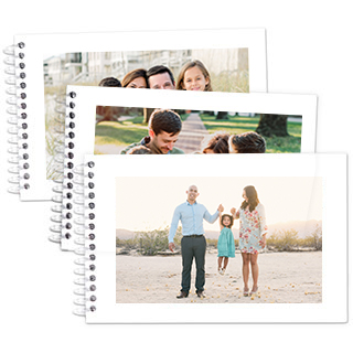 ac4dc0b9ec6ea Flip Book 4x6 spiral bound book with 10 pages