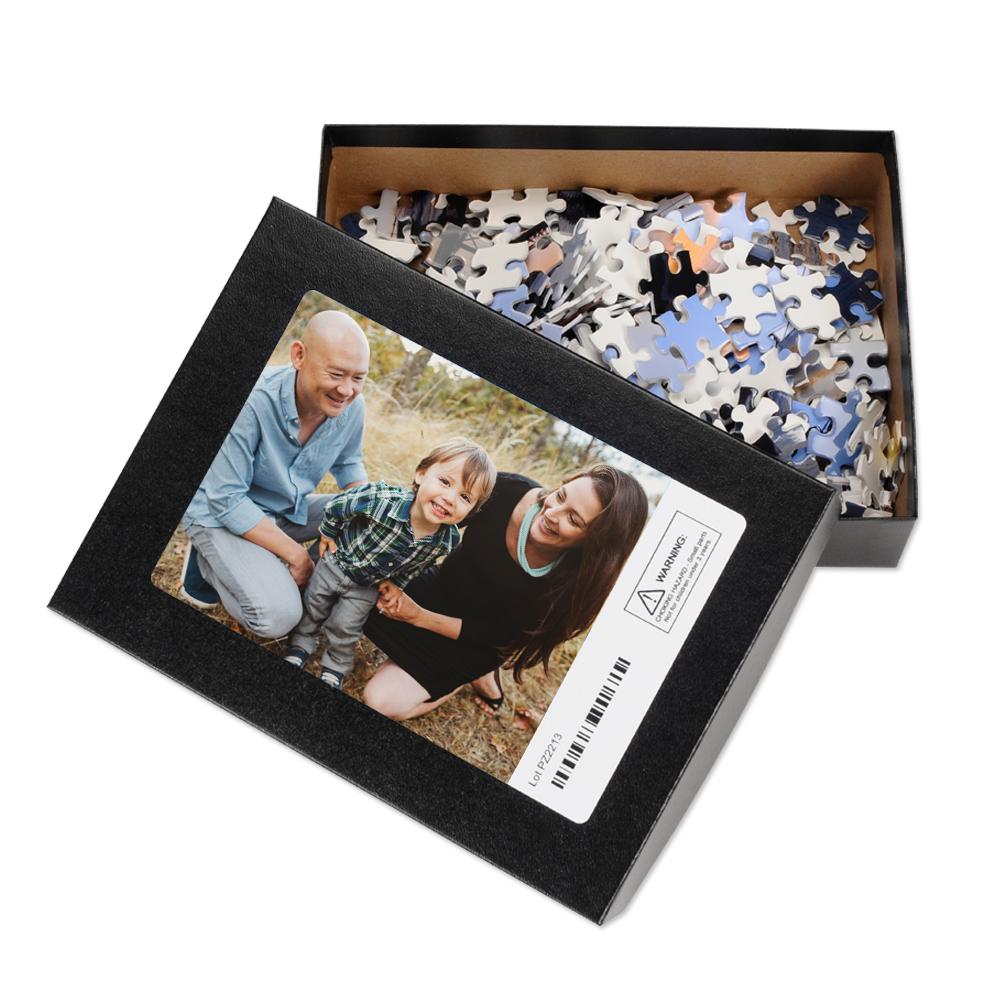 8x10 premium photo puzzle with gift box full photo puzzles