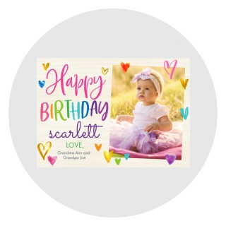 photo birthday cards, babys first birthday cards, picture birthday cards, custom birthday cards, custom baby birthday cards