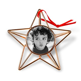 Copper Wire Star