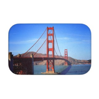 photo bath mat