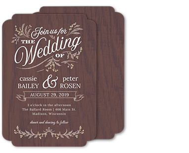 Photo cards invitations walmart photo wedding filmwisefo Gallery