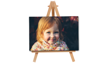 4x6 canvas with easel