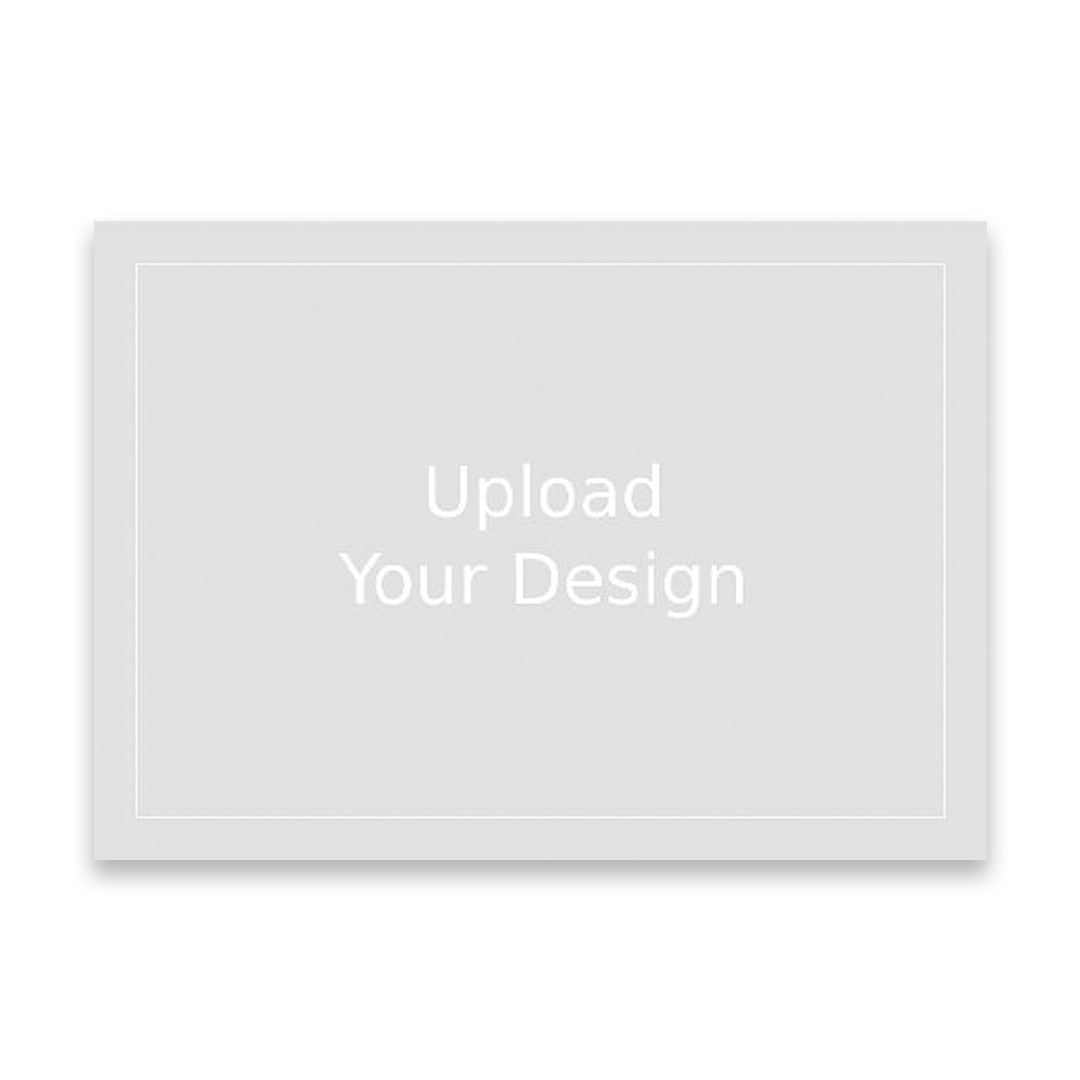 upload your own design photo card