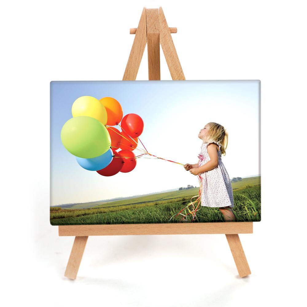 Mini Canvas  sc 1 st  Photo Prints   Custom Cards   Photo Gifts   Walmart Photo & 4x6 Mini Photo Canvas With Easel - Full Photo   Mini Canvas