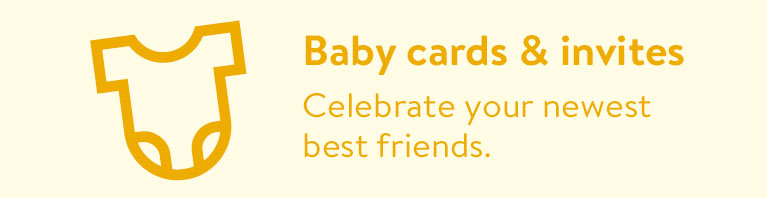 baby cards & invitations