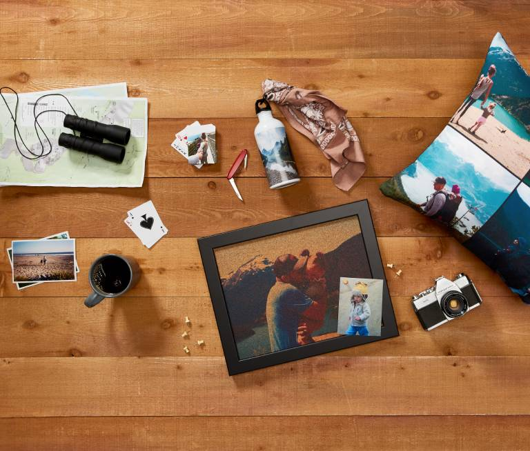 Outdoor photo gifts for dad