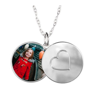 Photo Locket Heart
