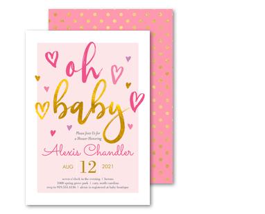 Baby. Baby Shower Invitations