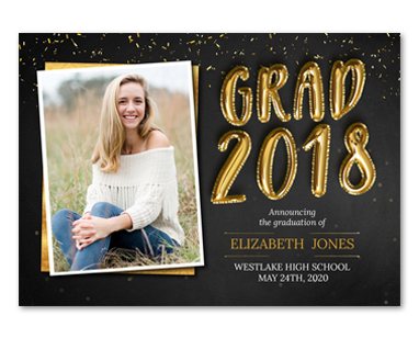 Photo cards invitations walmart photo graduation announcements graduation invitations filmwisefo Gallery