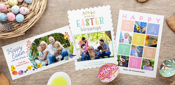 Personalized Easter Cards