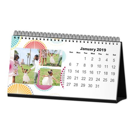 desk calendar, photo desk calendar