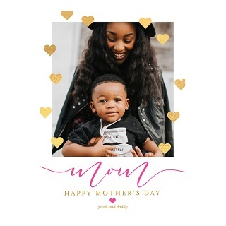 custom mother's day cards, photo mother's day cards