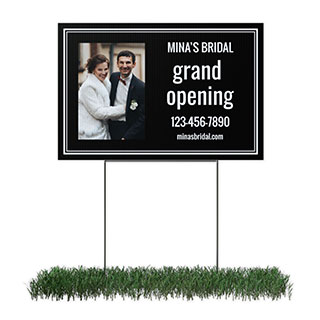 personalized business yard signs