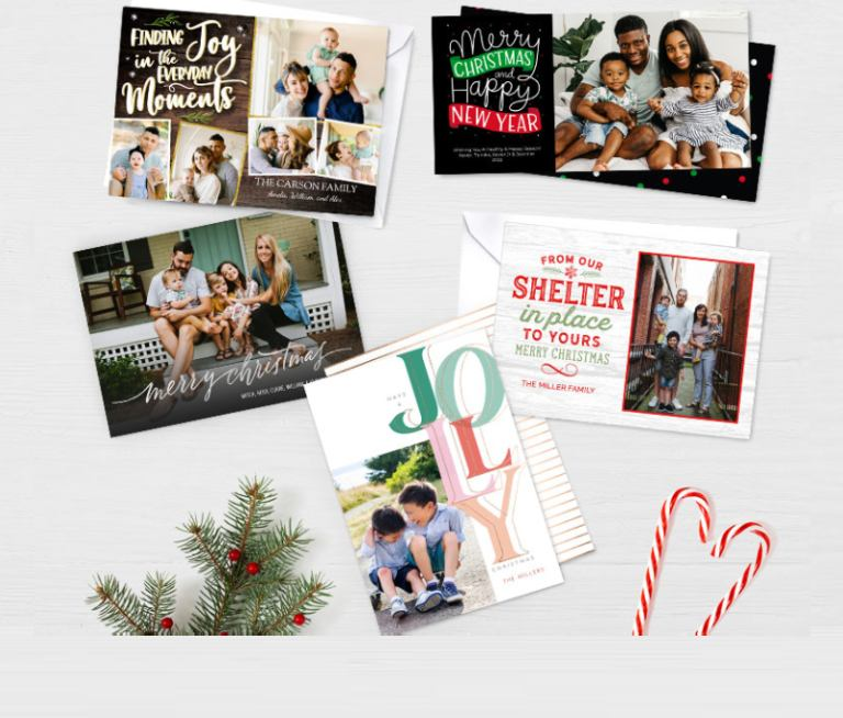 sneak peek christmas photo cards