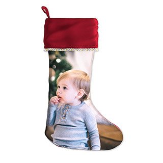 Holiday Photo Stocking