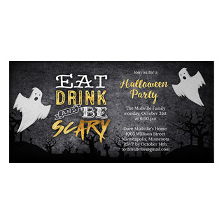 halloween party cards, halloween party invites