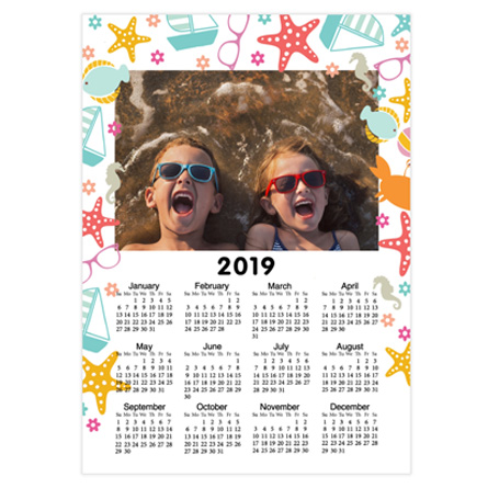 poster calendar, photo poster calendar