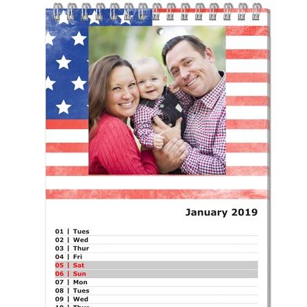 planning calendar, photo planning calendar
